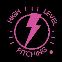 high level pitching logo
